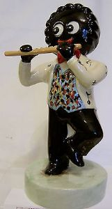 Artware Collectables Large Golly Musician Flute Player - Limited Edition - 380971661601 SOLD